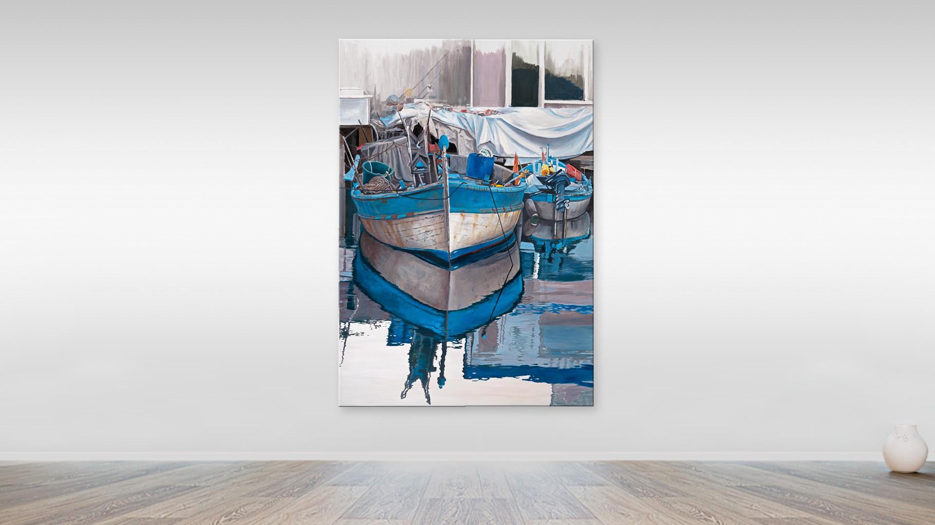 Fishing boats, Monaco Harbour