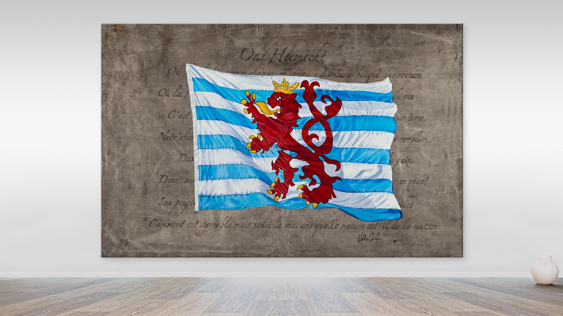 The Luxemburg Flag