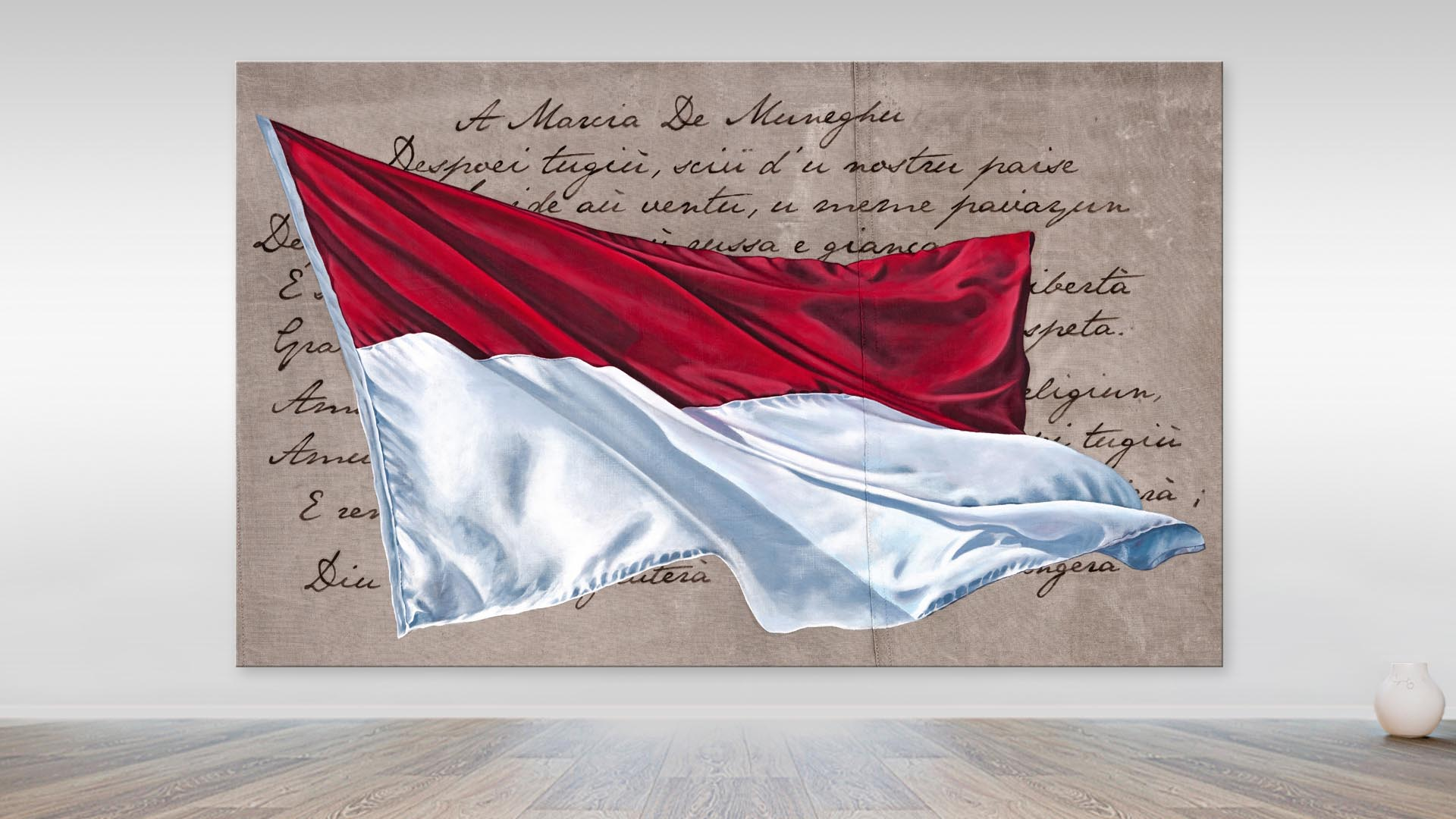 The Monaco Flag