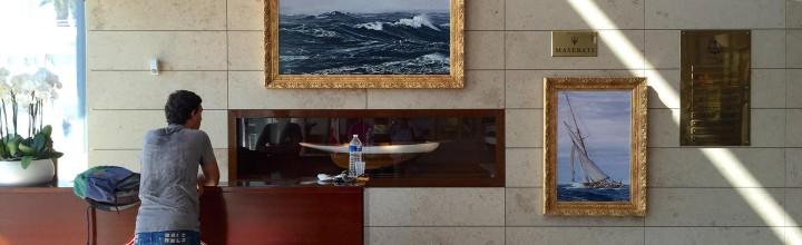 Art Exhibition at Yacht Club de Monaco