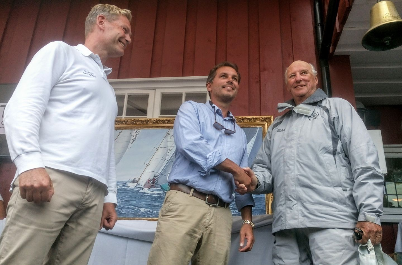 Niklas gift to the Norwegian King on his 80th birthday